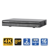 Ultimate 4K 16 Channel DVR with AI