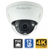 12MP 4K Ultra HD IP Dome Camera, 4X Zoom
