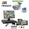 HD Long Range Infrared Camera System for up to 16 Cameras HDCVI