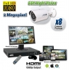 2 Megapixel 8 Security Camera System