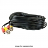 25ft Siamese Cable, Black