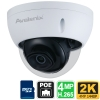 2K H.265 IP Dome Camera 4MP, Starlight, PoE