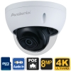 4K IP Camera Dome H.265, Video Analytics