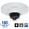180 Degree Fisheye Dome Camera 5MP