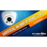 Daytime Video Sample of Varifocal 4K 8MP IP Dome with Microphone, IPC4KMZED