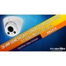2K 4MP Dome Security Camera, 200ft Night Vision, Item 4M2470, Daytime Video Sample
