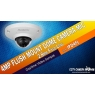 Daytime Video Sample of 4MP Flush Mount Dome Camera with Mic, Item IPD4FL