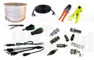 Security Camera Wire and CCTV Tools
