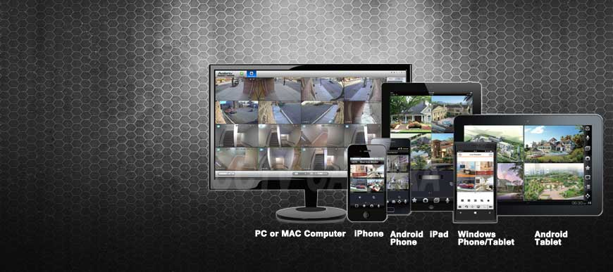 Remote View your CCTV System from anywhere