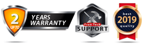 Up to 3 Year Warranty, and Best in-class Support for 2015